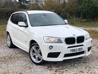 USED 2012 62 BMW X3 2.0 XDRIVE20D M SPORT 5d 181 BHP
