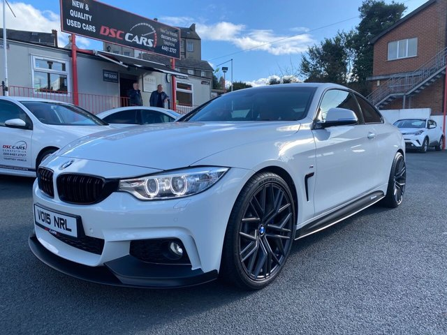 2015 15 BMW 4 SERIES 3.0 435I M SPORT 2d 302 BHP