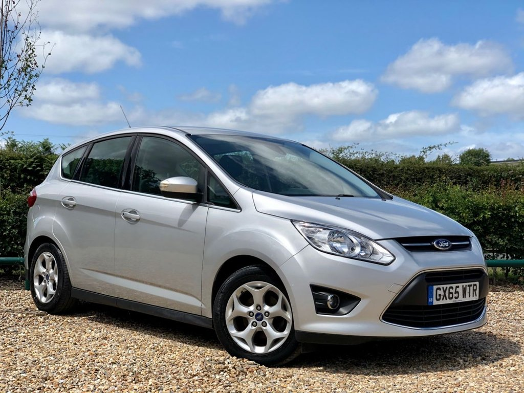 USED 2015 65 FORD C-MAX 1.6 ZETEC TDCI 5d 114 BHP 1 OWNER & FULL FORD HISTORY