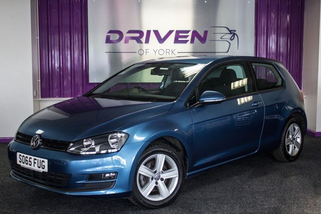 2015 65 VOLKSWAGEN GOLF 1.4 MATCH TSI BLUEMOTION TECHNOLOGY 3d 124 BHP