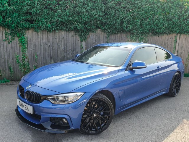 2015 52 BMW 4 SERIES 3.0 435D XDRIVE M SPORT 2d 309 BHP
