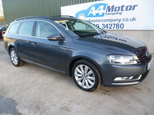 2012 62 VOLKSWAGEN PASSAT 1.6 TDI BlueMotion Tech Highline 5dr