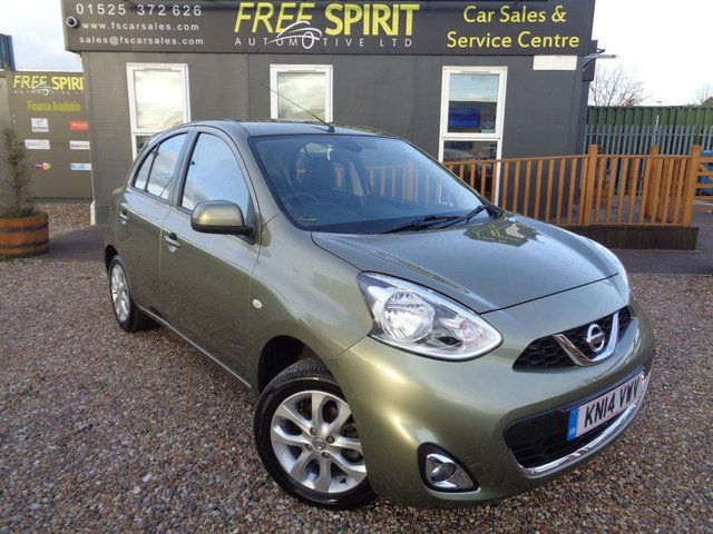 USED 2014 14 NISSAN MICRA 1.2 Acenta 5dr Full Nissan History, Bluetooth