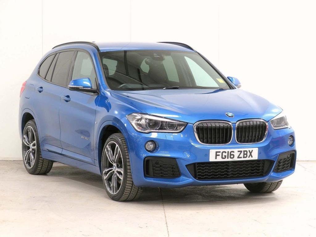 USED 2016 16 BMW X1 2.0 20d M Sport Auto xDrive (s/s) 5dr **£10,335 EXTRA**HOME-DELIVERY