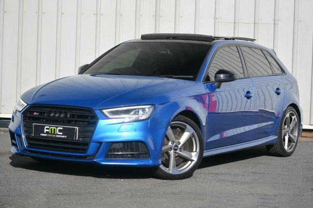 2015 N AUDI S3 2.0 S3 SPORTBACK QUATTRO 5d 296 BHP **Facelift - Supersport Seats - Pan Roof**