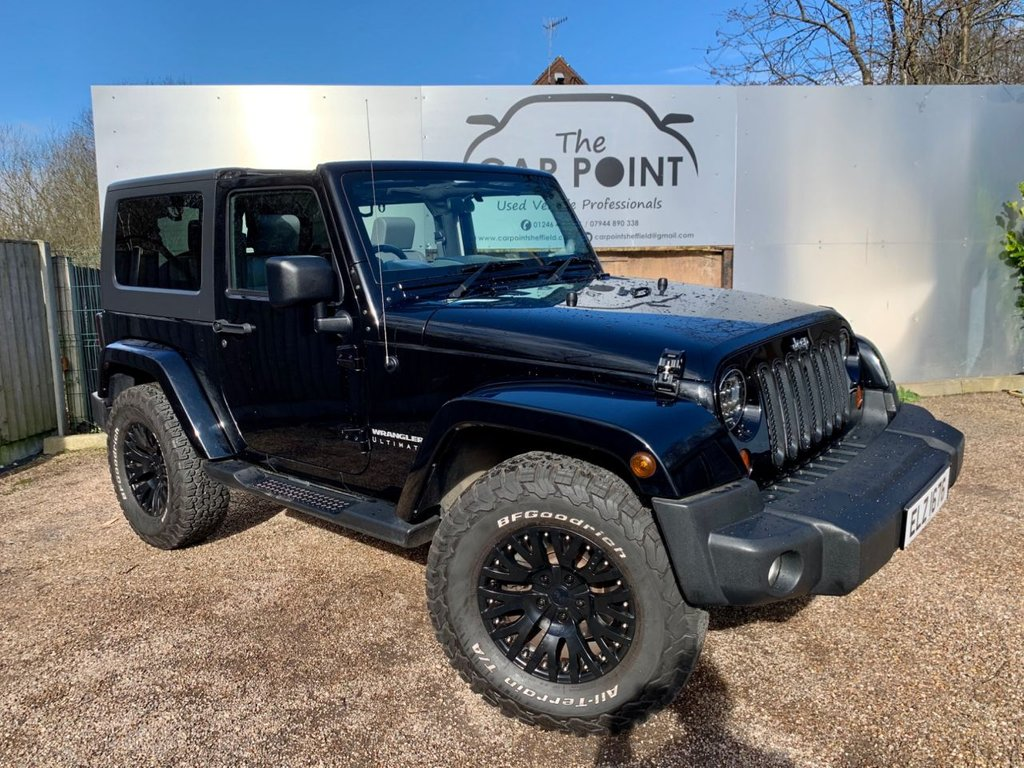 USED 2010 JEEP WRANGLER 2.8 CRD ULTIMATE 2d AUTO 174 BHP