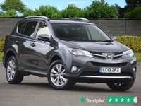 USED 2013 13 TOYOTA RAV4 2.2 D-4D INVINCIBLE 5d 150 BHP Beautiful Low Mileage Example