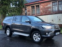 USED 2016 66 TOYOTA HI-LUX 2.4 ICON 4WD D-4D DCB 148 BHP Price plus VAT