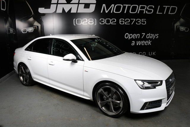USED 2015 AUDI A4 DECEMBER 2015 AUDI A4 2.0 TDI S LINE BLACK EDITION STYLE AUTO 148 BHP (FINANCE AND WARRANTY)