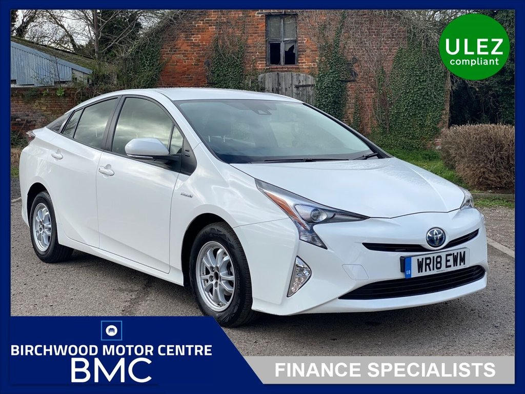 USED 2018 18 TOYOTA PRIUS 1.8 VVT-I ACTIVE 5d 97 BHP, 1 PRIVATE OWNER, HYBRID ELECTRIC, 49,0000miles, REVERSE CAMERA, SAT NAV, CRUISE CONTROL, IMMACULATE THROUGHOUT
