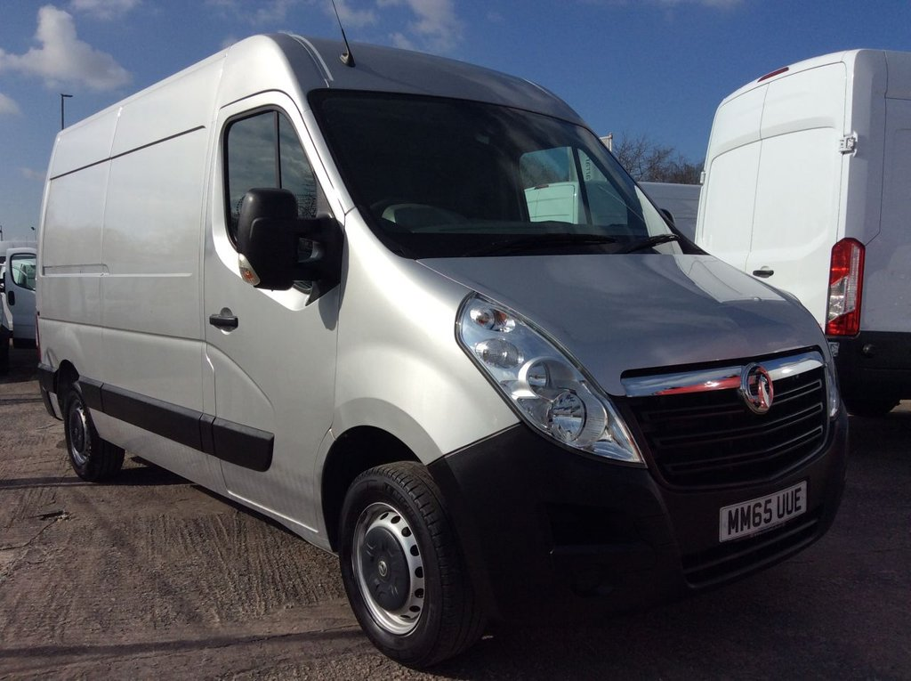 USED 2015 65 VAUXHALL MOVANO MWB 2.3 F3500 L2H2 CDTI 123 BHP 1 OWNER FSH NEW MOT AIR CON SAT NAV RACKING FREE 6 MONTH WARRANTY INCLUDING RECOVERY AND ASSIST NEW MOT EURO 5 AIR CONDITIONING SATELLITE NAVIGATION RACKING BLUETOOTH REAR PARKING SENSORS 6 SPEED ELECTRIC WINDOWS AND MIRRORS