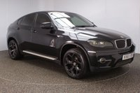 USED 2011 61 BMW X6 3.0 XDRIVE30D 4DR AUTO 241 BHP FULL SERVICE HISTORY + HEATED LEATHER SEATS + SATELLITE NAVIGATION + REVERSE CAMERA + PARKING SENSOR + BLUETOOTH + CRUISE CONTROL + CLIMATE CONTROL + MULTI FUNCTION WHEEL + ELECTRIC/MEMORY FRONT SEATS + XENON HEADLIGHTS + PRIVACY GLASS + DAB RADIO + ELECTRIC WINDOWS + ELECTRIC/HEATED DOOR MIRRORS + 20 INCH ALLOY WHEELS