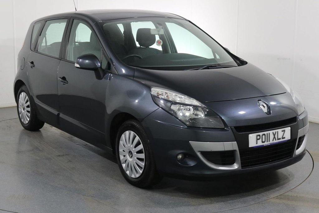 USED 2011 11 RENAULT SCENIC 1.5 EXPRESSION DCI 5d 110 BHP 2 OWNERS with 6 Stamp SERVICE HISTORY
