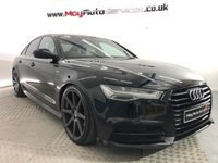 USED 2015 15 AUDI A6 2.0 TDI ULTRA BLACK EDITION 4d 188 BHP * UPGRADED ALLOY WHEELS *