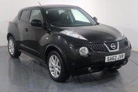 USED 2012 62 NISSAN JUKE 1.6 ACENTA PREMIUM 5d 117 BHP 3 OWNERS with 4 Stamp SERVICE HISTORY