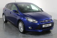 USED 2014 14 FORD FOCUS 1.0 ZETEC NAVIGATOR 5d 124 BHP Demo and 2 OWNERS with 4 Stamp SERVICE HISTORY
