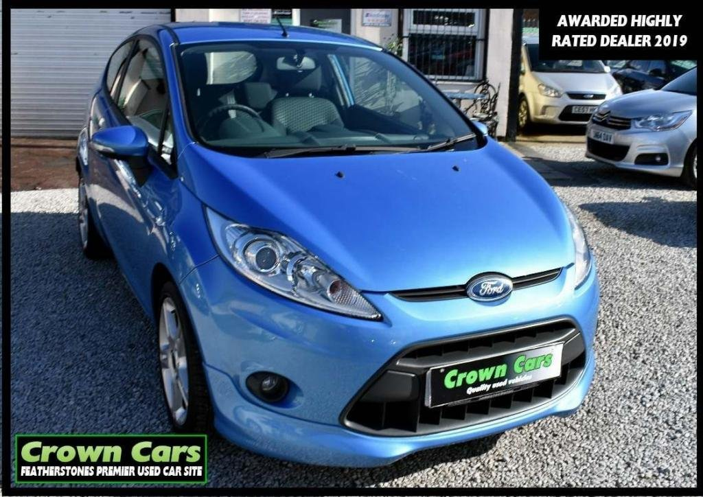 USED 2009 59 FORD FIESTA 1.6 Zetec S 3dr RESERVE TODAY VIEW LATER
