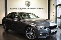 """USED 2018 68 BMW 3 SERIES 2.0 320D M SPORT SHADOW EDITION 4DR AUTO 188 BHP Finished in a stunning mineral metallic grey styled with 19"""" alloys. Upon opening the drivers door you are presented with full leather interior, full service history, pro satellite navigation, bluetooth, heated sports seats, harman/kardon surround sound, DAB radio, cruise control, LED headlights, LED fog lights, privacy glass, High-beam assistant, light package, parking sensors, ULEZ EXEMPT"""