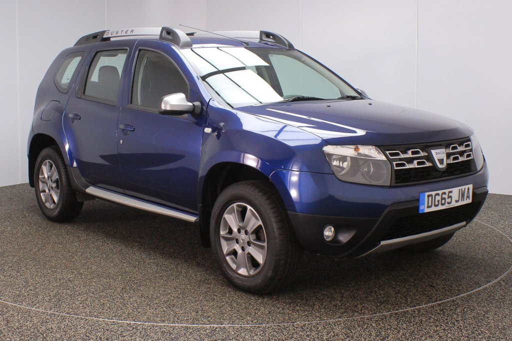 USED 2016 65 DACIA DUSTER 1.5 LAUREATE PRIME DCI 5DR 1 OWNER 109 BHP FULL SERVICE HISTORY + £30 12 MONTHS ROAD TAX + SATELLITE NAVIGATION + PARKING SENSOR + BLUETOOTH + CRUISE CONTROL + MULTI FUNCTION WHEEL + AIR CONDITIONING + RADIO/CD/USB + ELECTRIC WINDOWS + ELECTRIC/HEATED DOOR MIRRORS + 16 INCH ALLOY WHEELS
