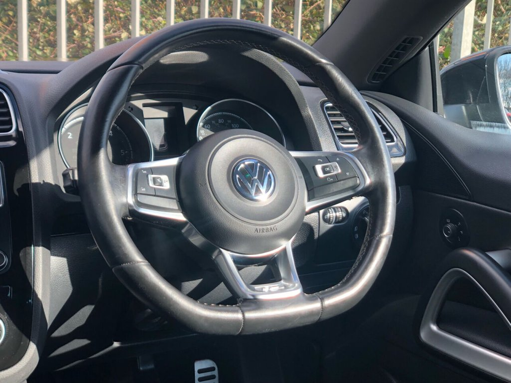 USED 2015 65 VOLKSWAGEN SCIROCCO 2.0 R LINE TDI BLUEMOTION TECHNOLOGY 2d 182 BHP