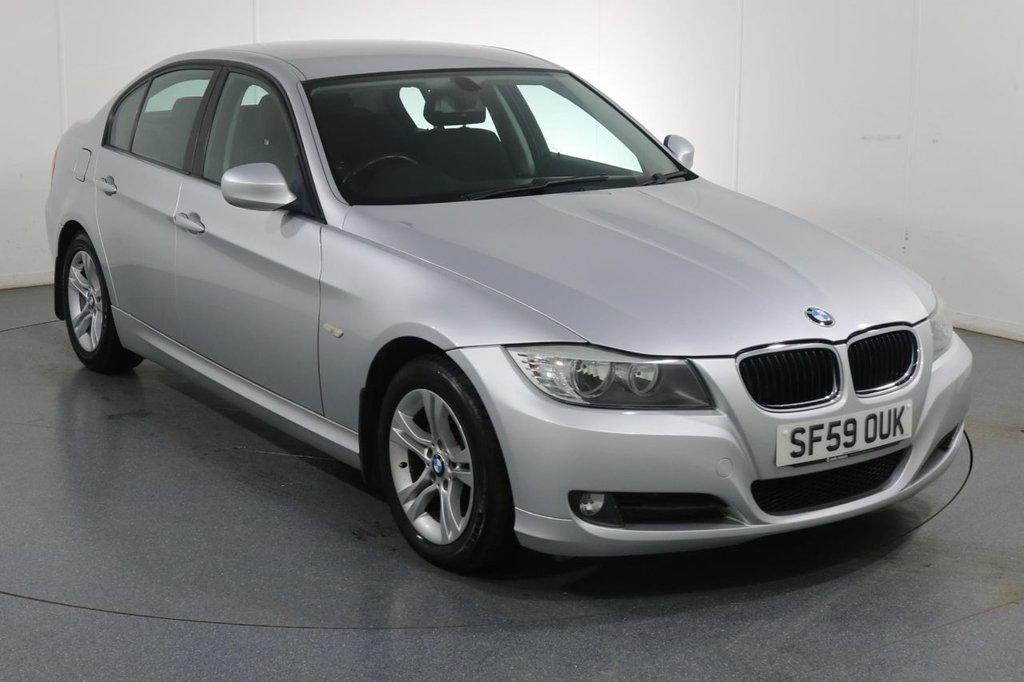 USED 2009 59 BMW 3 SERIES 2.0 318I ES 4d 141 BHP 4 Stamp SERVICE HISTORY