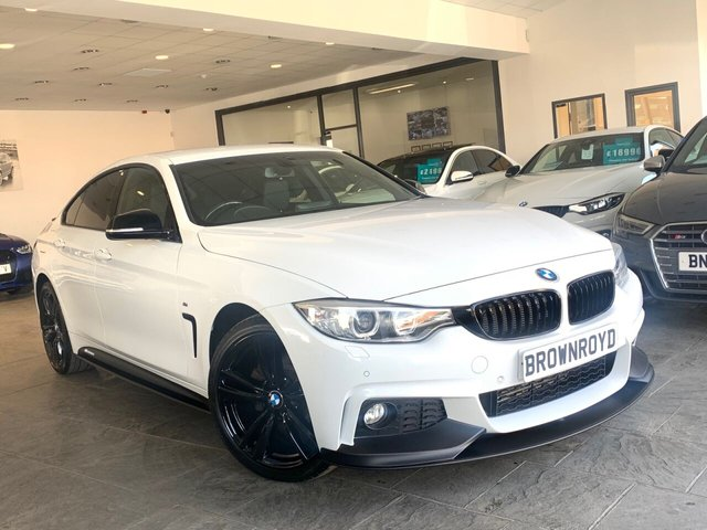 USED 2015 15 BMW 4 SERIES GRAN COUPE 2.0 420D XDRIVE M SPORT GRAN COUPE 4d 188 BHP BM PERFORMANCE STYLING+6.9%APR