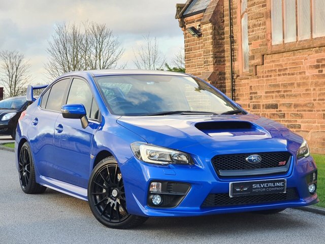 2014 L SUBARU WRX 2.5 STI TYPE UK 4d 300 BHP