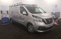 2016 NISSAN NV300 1.6 DCI ACENTA LWB 120 BHP. LONG WHEEL BASE, Air Con, Bluetooth, Full size Roof Rack, Fully Lined, Electric Pack, Full History,  £9980.00