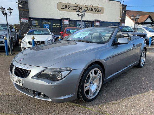 USED 2005 05 BMW 6 SERIES 3.0 630I 2d 255 BHP