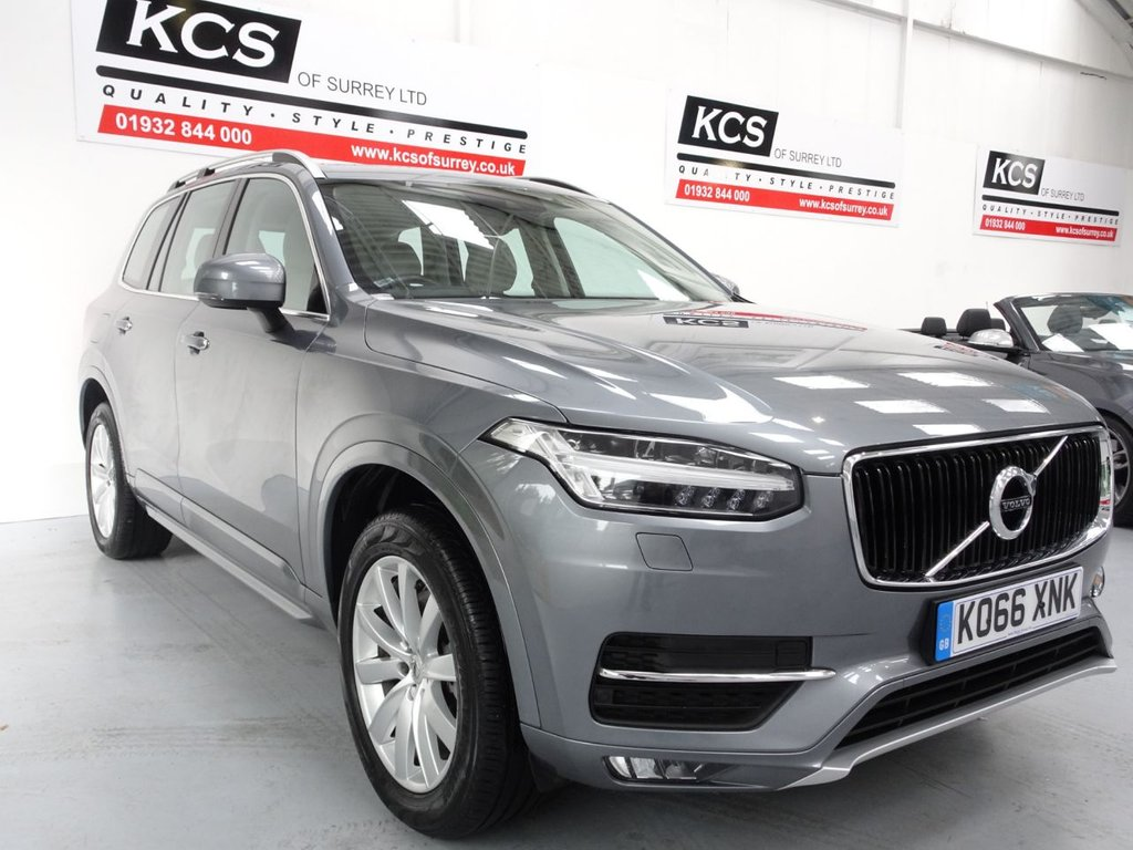 USED 2017 66 VOLVO XC90 2.0 D5 POWERPULSE MOMENTUM AWD 5d 231 BHP SAT NAV / HTD CREAM LEATHER