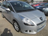 USED 2010 60 PEUGEOT 5008 1.6 HDI SPORT 5d 112 BHP 7 SEVEN SEATER AUTOMATIC DIESEL