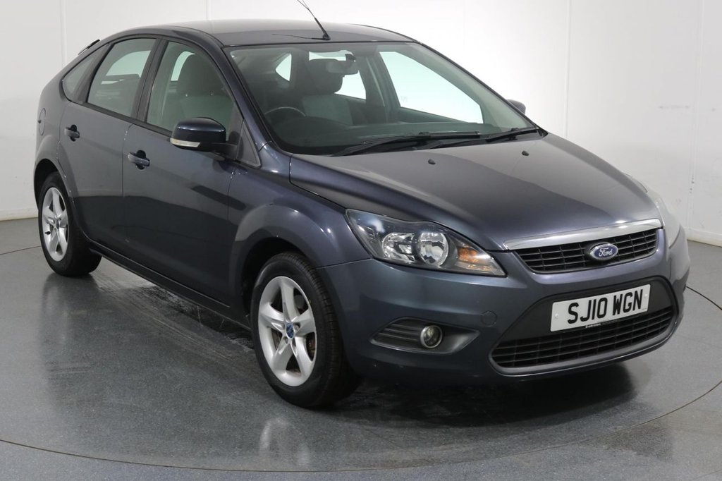 USED 2010 10 FORD FOCUS 1.6 ZETEC 5d 100 BHP 2 OWNERS I FULL SERVICE HISTORY