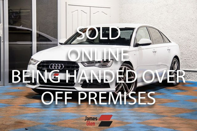 USED 2016 66 AUDI A6 2.0 TDI QUATTRO BLACK EDITION 4d 188 BHP Two Owners | Three Audi Service Stamps