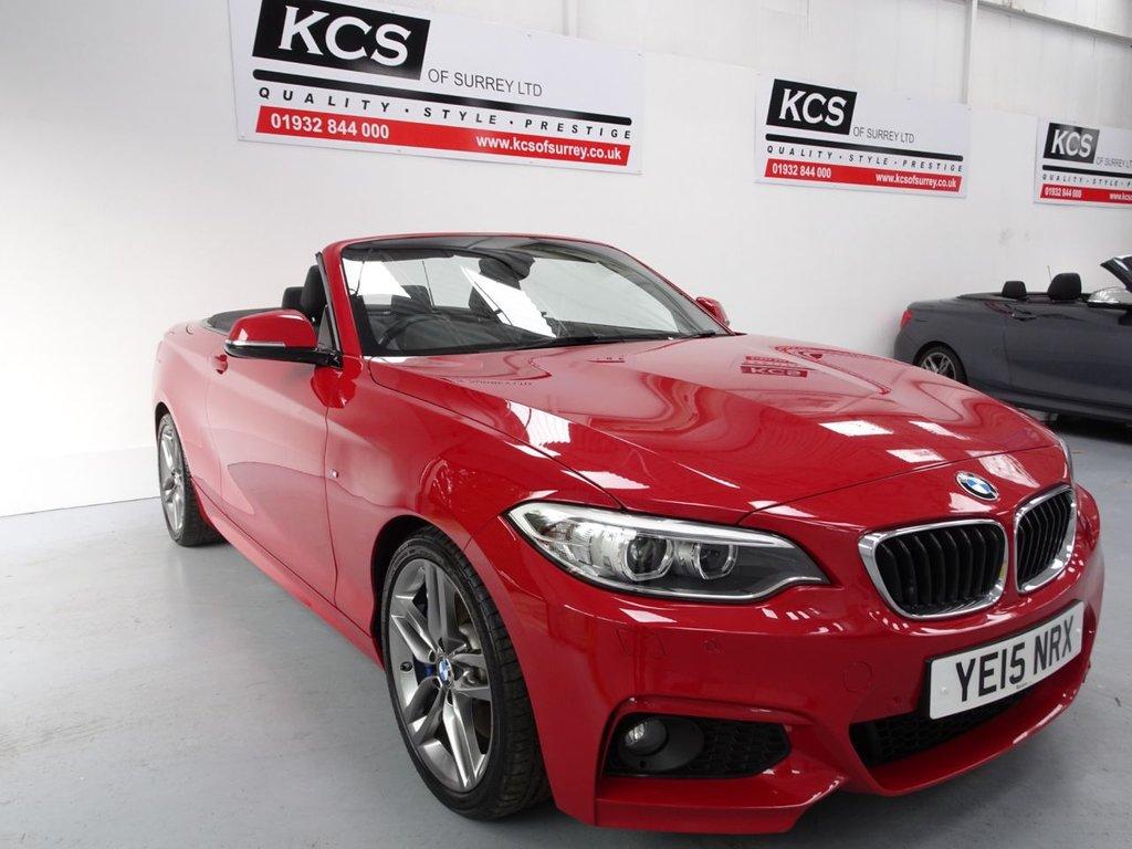 USED 2015 15 BMW 2 SERIES 2.0 220I M SPORT 2d 181 BHP SAT NAV / M SPORT PLUS PACK