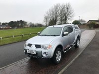 2010 MITSUBISHI L200 2.5 RAGING BULL 4WD LWB DOUBLE CAB PICK UP NO VAT £6995.00