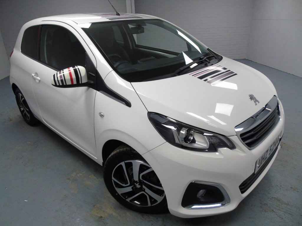USED 2016 PEUGEOT 108 1.2 PURETECH ALLURE 3d 82 BHP £111 a month, T&Cs apply.