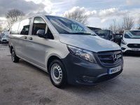 USED 2019 68 MERCEDES-BENZ VITO  BLUETEC TOURER PRO 140 BHP LEATHER 2019 IN YEAR (( BIG STOCK OFF MINIBUSES 5 TO 17 SEATS ))