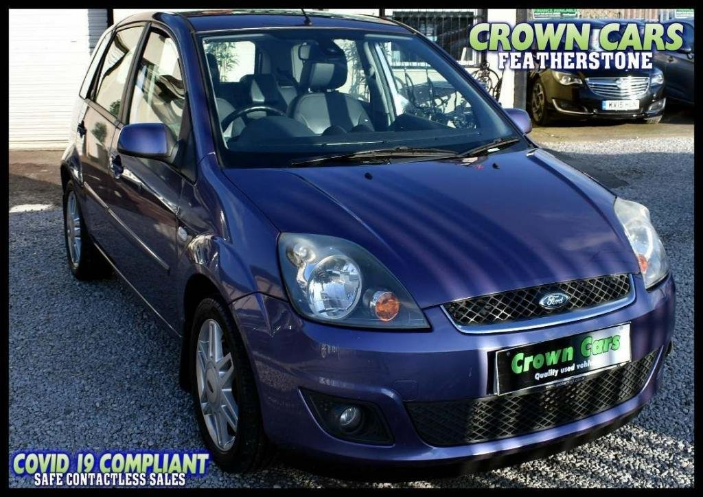 USED 2008 58 FORD FIESTA 1.4 Ghia 5dr CONTACT FREE COLLECTION