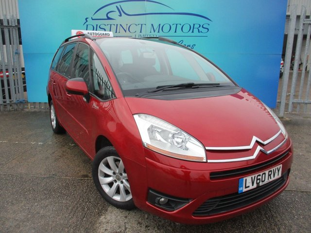 USED 2010 60 CITROEN C4 GRAND PICASSO 1.6 VTR PLUS HDI EGS 5d 107 BHP