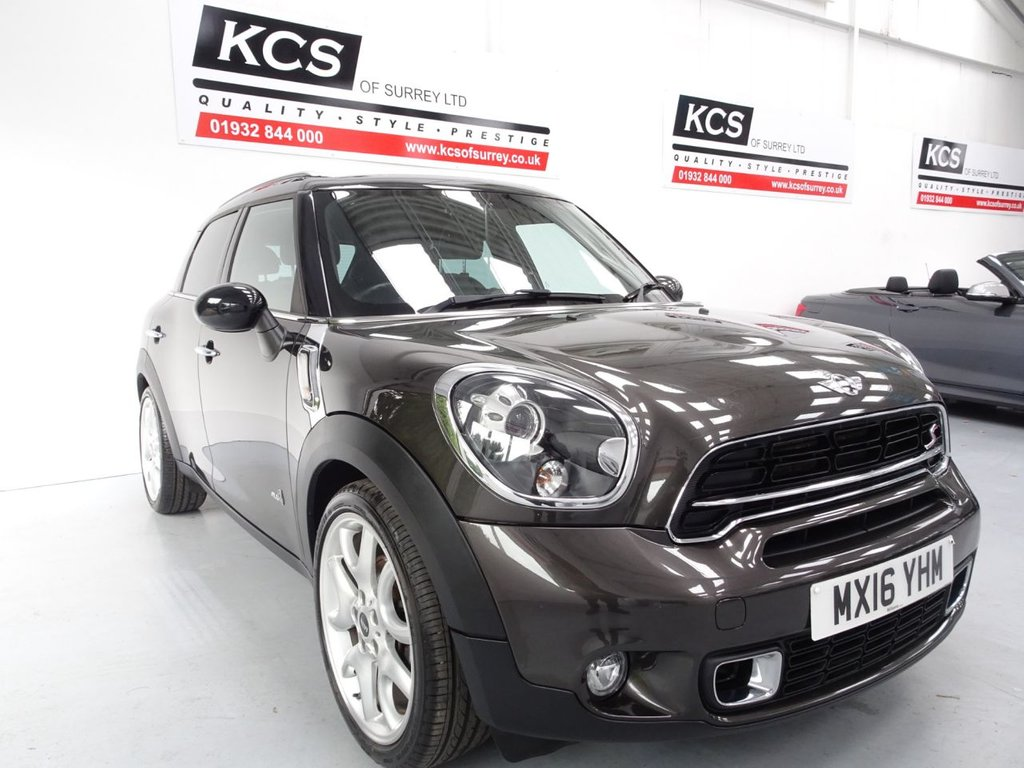 USED 2016 16 MINI COUNTRYMAN 2.0 COOPER SD ALL4 5d 141 BHP ALL 4 / CHILI / NAV / LEATHER