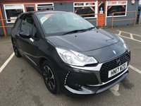 USED 2017 17 DS DS 3 1.2 PURETECH ELEGANCE S/S 3d 109 BHP RAC APPROVED ONLY 25000 MILES!