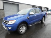2013 FORD RANGER 2.2 LIMITED 4X4 DCB TDCI 4d 148 BHP LEATHER NO VAT £9991.00
