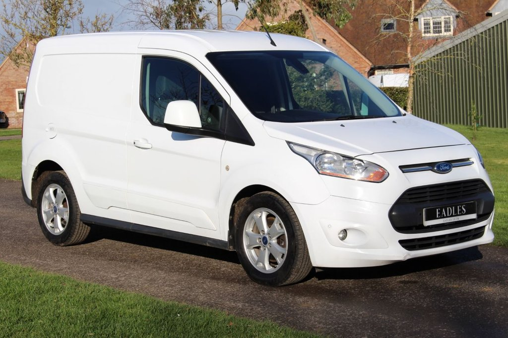 USED 2016 16 FORD TRANSIT CONNECT 1.6 200 LIMITED P/V 114 BHP NO VAT - TOP SPEC WHITE - LIMITED REVERSE PARKING CAMERA - MARCH 2021 MOT