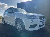 2011 BMW X3 2.0 D M-SPORT X-DRIVE ALPINE WHITE HEATED LEATHER NAV £9995.00