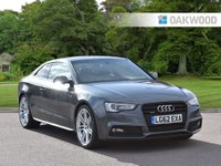 USED 2012 62 AUDI A5 3.0 TDI QUATTRO BLACK EDITION 2d 245 BHP