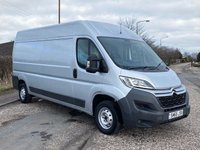 USED 2017 66 CITROEN RELAY 2.0 35 L3H2 ENTERPRISE BLUEHDI 129 BHP