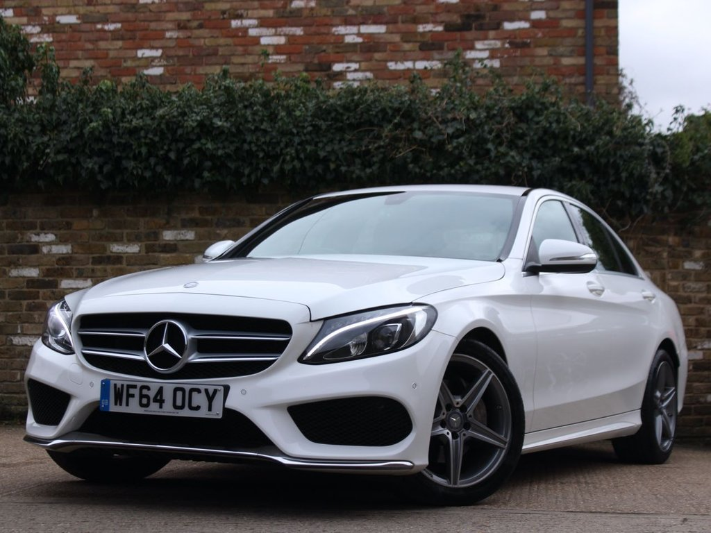 USED 2015 64 MERCEDES-BENZ C CLASS 2.0 C200 AMG LINE 4d 184 BHP