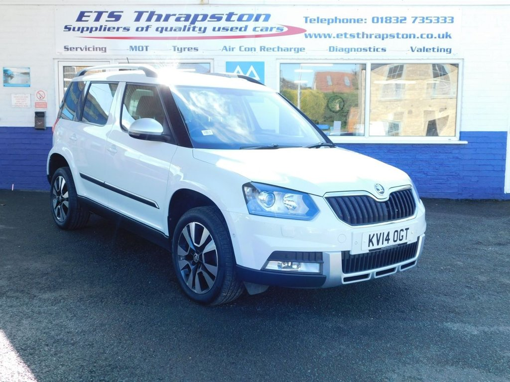USED 2014 14 SKODA YETI 2.0 OUTDOOR LAURIN AND KLEMENT TDI CR DSG 5d 138 BHP