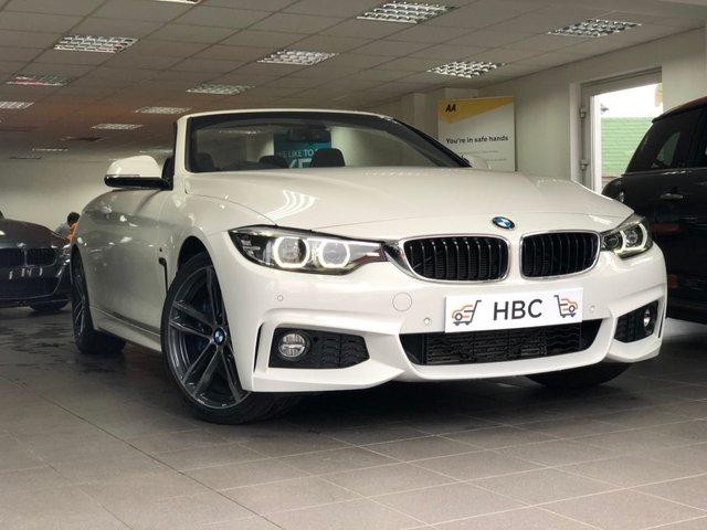 2017 17 BMW 4 SERIES 3.0 430D M SPORT 2d 255 BHP