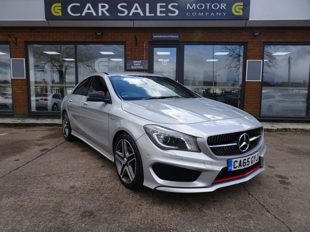 USED 2016 65 MERCEDES-BENZ CLA 2.0 CLA250 4MATIC ENGINEERED BY AMG 4d 211 BHP REAR ENTERTAINMENT, SAT NAV, REVERSE CAMERA, FULL MERCEDES BENZ SERVICE HISTORY, RARE LIMITED EDITION - ENGINEERED BY AMG, HPI CLEAR, 2 REMOTE KEYS